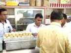 ચંદની પડવાના તહેવારને લઈને શહેરમાં ઘારીના વિક્રેતાઓને ત્યાં આરોગ્ય વિભાગના દરોડા|સુરત,Surat - Divya Bhaskar