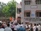 દક્ષિણ ગુજરાત યુનિવર્સિટીની 300 કોલેજમાં જનરલ સેક્રેટરીની ચૂંટણી યોજાઈ સુરત,Surat - Divya Bhaskar