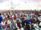 રોજગારી માટે સ્થળાંતર રોકવા સરકાર પગલાં લઇ રહી છે: CM|દાહોદ,Dahod - Divya Bhaskar