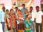 વિરોલ ગામમાં દીકરીનું રાજ, જન્મ થવા પર ચાંદીની ભેટ આપી પરિવારને સન્માનિત કરાય છે|આણંદ,Anand - Divya Bhaskar