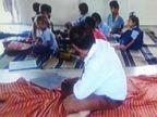 કઠમાંડવાનો શિક્ષક ચાલુ પરીક્ષાએ નશામાં વિદ્યાર્થીઓ વચ્ચે જ ઊંઘી ગયો, બાળકીને અડપલાં કર્યા હોવાનો આક્ષેપ|બોડેલી,Bodeli - Divya Bhaskar