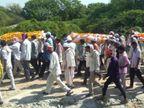 ભોંયણ ગામે એક સાથે 3 મૃતકોની અંતિમયાત્રા નીકળતાં ગામ હિબકે ચઢ્યું પાલનપુર,Palanpur - Divya Bhaskar