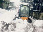 હિમવર્ષાના કારણે 5 નેશનલ હાઈવે અને 1034 રસ્તાઓ ઠપ  - Divya Bhaskar
