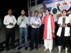 જામનગર કલેક્ટરનો નવતર પ્રયોગ, લોકોમાં હકારાત્મક ઉર્જા લાવવા મ્યુઝિક વાન દ્વારા મનોરંજન પીરસાય છે જામનગર,Jamnagar - Divya Bhaskar
