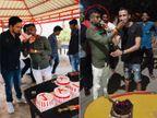 સુરતમાં લોકડાઉનમાં જન્મદિવસે તલવારથી કેક કાપતા માથાભારે લાલુ જાલીમ પકડાયો|સુરત,Surat - Divya Bhaskar