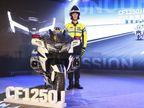 ચાઇનાની કંપની CF Motoની મોસ્ટ પાવરફુલ બાઇક CF1250Jની તસવીર વાઇરલ થઈ, ખાસ પોલીસ માટે બનાવવામાં આવી ઓટોમોબાઈલ,Automobile - Divya Bhaskar