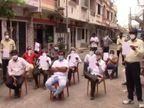 પુણા વિસ્તારમાં લાઈટ, વેરા અને સ્કૂલ ફી માફ કરવાની માંગ સાથે કોર્પોરેટરની સહી ઝુંબેશ સુરત,Surat - Divya Bhaskar