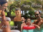 અર્જુન રામપાલ અને ગર્લફ્રેન્ડ ગેબ્રિએલાએ તેમના દીકરા અરિકના જન્મદિવસ પર પહેલીવાર તેનો ફેસ ફેન્સને બતાવ્યો બોલિવૂડ,Bollywood - Divya Bhaskar