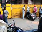 આઠ  દિવસ અગાઉ શરૂ થયેલા મહિધરપુરા હીરા બજારની શેરીઓ સીલ, બોમ્બે માર્કેટ સ્વૈચ્છિક બંધ સુરત,Surat - Divya Bhaskar