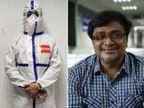 ઓસ્ટ્રેલિયાનું નાગરિકત્વ ધરાવતા મૂળ અમદાવાદના ડૉક્ટર સિવિલમાં કરે છે કોરોના દર્દીઓની સેવા|અમદાવાદ,Ahmedabad - Divya Bhaskar