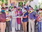 જાસપુરના ઉમિયાધામ સંકુલ ખાતે વૃક્ષારોપણનો કાર્યક્રમ યોજાયો|અમદાવાદ,Ahmedabad - Divya Bhaskar
