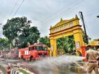 100 નદી, કૈલાશ માનસરોવર તથા લંકાના સમુદ્રનું જળ અયોધ્યા પહોંચ્યું|ઈન્ડિયા,National - Divya Bhaskar