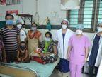 સ્મીમેર હોસ્પિટલમાં દાખલ કોરોનાગ્રસ્ત સગર્ભાને 40 દિવસ વેન્ટીલેટર પર રાખી તબીબોએ નવું જીવન આપ્યું|સુરત,Surat - Divya Bhaskar