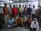 ગોપીનાથ જેમ્સના 42 રત્નકલાકારોએ પ્લાઝમા દાન કર્યું|સુરત,Surat - Divya Bhaskar