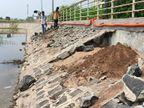 છાણી બાદ હરણીના તળાવમાં પણ ભ્રષ્ટાચારનું ગાબડું તળાવ બ્યૂટિફિકેશનની બોદી કામગીરીની પોલ ખૂલી|વડોદરા,Vadodara - Divya Bhaskar