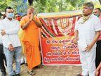 કેમ્પ હનુમાન મંદિર ખોલવા ભક્તોની માગણી|અમદાવાદ,Ahmedabad - Divya Bhaskar