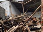 વડોદરાના છાણી ગામની કુમાર શાળાનો જર્જરિત રૂમ ધરાશાયી, સ્કૂલ બંધ હોવાથી મોટી દુર્ઘટના ટળી|વડોદરા,Vadodara - Divya Bhaskar