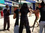 અમદાવાદમાં દીકરીની ઉંમરની યુવતીઓએ વિડીયો ઉતારનાર આધેડને ફટકાર્યો, રણચંડી બની લાકડીઓ-પટ્ટા સાથે તૂટી પડતા કરગરવા લાગ્યો|અમદાવાદ,Ahmedabad - Divya Bhaskar