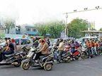 અમદાવાદીઓએ 5 વર્ષમાં 100 કરોડથી વધુનો ઈ-મેમો ના ભર્યો, સ્ટોપેજ લાઈન ક્રોસ કરતા 36 લાખ વાહન ચાલકોને ઈ મેમો ફટકાર્યા|અમદાવાદ,Ahmedabad - Divya Bhaskar