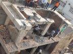 નવા વાડજમાં ધાબા પર બાંધેલું ગેરકાયદે બાંધકામ તોડી પડાયું|અમદાવાદ,Ahmedabad - Divya Bhaskar