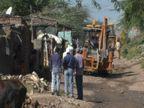 રાજકોટ મનપાનું મેગા ડિમોલિશન, 141 કાચા-પાકા મકાનો તોડી પાડી કરોડો રૂપિયાની જમીન ખુલ્લી કરવામાં આવી|રાજકોટ,Rajkot - Divya Bhaskar