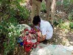 રાજકોટના કોઠારીયા રોડ પરના વોંકળામાંથી મૃત હાલતમાં નવજાત બાળક મળ્યું, બાળકનો જન્મ એકાદ કલાક પહેલા થયો હોવાનું તારણ|રાજકોટ,Rajkot - Divya Bhaskar