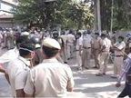 હરિયાણામાં ભીડે દિલ્હી-આગ્રા હાઈવે જામ કર્યો, દોષિતોને ફાંસી આપવાની માંગ; પોલીસનો લાઠીચાર્જ|ઈન્ડિયા,National - Divya Bhaskar