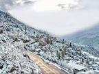 હિમાચલના રહેણાક વિસ્તારોમાં સિઝનની પ્રથમ હિમવર્ષા, દિવાળીનાં બે સપ્તાહ અગાઉ દેશમાં ઠંડી વધી|ઈન્ડિયા,National - Divya Bhaskar