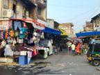 દિવાળી દ્વાર પર છતાં બારડોલીના બજારો હજી ઠંડા, કોડિયા, રંગોળી, ડેકોરેશન, કપડાં અને ફૂટવેર સહિતની દુકાનો ગ્રાહકો વગર ખાલીખમ દેખાતા વેપારીઓ વિમાસણમાં બારડોલી,Bardoli - Divya Bhaskar