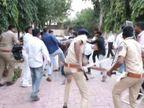 ગઢડામાં બોગસ વોટિંગ મુદ્દે પોલીસની હાજરીમાં ભાજપ-કોંગ્રેસના કાર્યકરો વચ્ચે છૂટ્ટા હાથની મારામારી, ભાજપના કાર્યકરોએ કોંગ્રેસના કાર્યકરોને માર્યા|ભાવનગર,Bhavnagar - Divya Bhaskar