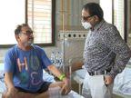 વડોદરામાં 69 વર્ષના ડોક્ટરને ગંભીર હાલતમાં સયાજી હોસ્પિટલમાં લવાયા હતા, 36 દિવસની સઘન સારવાર બાદ કોરોના મુક્ત થયા|વડોદરા,Vadodara - Divya Bhaskar