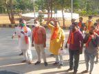 અર્નબ ગોસ્વામી સામેની કાર્યવાહી રદ કરાવવા માટે દાહોદમાં આવેદન અપાયું|દાહોદ,Dahod - Divya Bhaskar