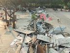 પોપ્યુલર બિલ્ડર ગ્રુપની સિંધુભવન રોડ પર આવેલી SBR ફૂડ કોર્ટ કોર્પોરેશને તોડી પાડી, સરકારે જમીન ખાલસા કરી નાખી|અમદાવાદ,Ahmedabad - Divya Bhaskar