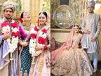 ઉદયપુરમાં અક્ષત-રિતુ લગ્નના તાંતણે બંધાયાં, કંગનાએ ભાઈના લગ્નમાં મન મૂકીને ડાન્સ કર્યો બોલિવૂડ,Bollywood - Divya Bhaskar