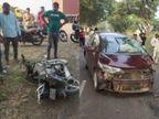 નેત્રંગ-મોવી રોડ પર કારની ટક્કરે બાઇક ચાલક બે યુવાનના મોત, દહેજની બેન્જોકેમ કંપનીમાં આજે ગેસ લીકેજથી આગ લાગી|વડોદરા,Vadodara - Divya Bhaskar