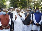 નીતીશ કુમાર 15 નવેમ્બરે NDA ધારાસભ્ય પક્ષની બેઠક પછી સરકાર બનાવવાનો દાવો રજૂ કરશે|ઈન્ડિયા,National - Divya Bhaskar