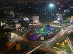 દિવાળી આવતા શહેરના તમામ બ્રિજ શણગારાયા, સ્વામી વિવેકાનંદ બ્રિજ અને સર્કલ પર લાઇટિંગ: રિવરબ્રિજ પર રંગબેરંગી લાઈટથી તાપી ઝગમગી|સુરત,Surat - Divya Bhaskar