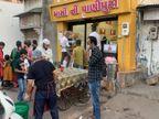 હપ્તાની લાલચમાં હજારો લોકો કોરોના સ્પ્રેડર બન્યાં, હવે AMC વાઇડ એન્ગલ પાસેના બર્ગર કિંગ અને પાણીપુરીની લારીઓ સીલ કરવા દોડી|અમદાવાદ,Ahmedabad - Divya Bhaskar