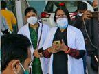 ગ્વાલિયરમાં કોવિડ સેન્ટરમાં આગ લાગી, 2 મહિલા ડોક્ટરે PPE કીટ પહેર્યા વગર તમામ 9 દર્દીને બચાવી લીધા|ઈન્ડિયા,National - Divya Bhaskar