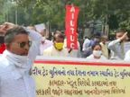 કેન્દ્ર સરકારની ખેડૂત-કામદાર વિરોધી નીતિના વિરોધમાં વડોદરામાં કામદારોએ રેલી કાઢીને કલેક્ટરને આવેદનપત્ર આપ્યું|વડોદરા,Vadodara - Divya Bhaskar