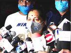 રાજકોટ કોવિડ હોસ્પિટલ અગ્નિકાંડઃ મેયર બીનાબેન આચાર્ય સંવેદના ભૂલ્યા, કહ્યું- આ તો કુદરતી ઘટના છે, મોટી જાનહાનિ ટળી!|રાજકોટ,Rajkot - Divya Bhaskar