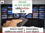 નેટફ્લિક્સ તથા હોટસ્ટાર સહિત 40 OTT પ્લેટફોર્મ દર્શકોનું મનોરંજન કરે છે, US પછી ભારતમાં દુનિયાનું સૌથી મોટું OTT માર્કેટ હશે|ટીવી,TV - Divya Bhaskar