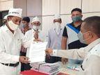 સુરત જિલ્લા ખેડૂત સમાજ દ્વારા કૃષિ કાયદાના વિરોધમાં રજૂઆત બારડોલી,Bardoli - Divya Bhaskar