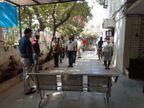 કોરોનાથી મૃત્યુ પામેલા પોલીસ કર્મીના આત્માની શાંતિ માટે ટ્રાફિક પોલીસે 2 મિનિટનું મૌન પાળ્યું|અમદાવાદ,Ahmedabad - Divya Bhaskar