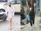 વ્હાઈટ ટી શર્ટમાં મલાઈકા અરોરા તો બ્લેક ટી શર્ટમાં શિલ્પા શેટ્ટી મુંબઈના રસ્તા પર જોવા મળ્યા|બોલિવૂડ,Bollywood - Divya Bhaskar