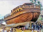અહીં 12મી સદીથી આરબ શ્રીમંતો માટે કિંમત 12 કરોડ રૂપિયાના લાકડાની લક્ઝરી જહાજ બની રહ્યાં છે|ઈન્ડિયા,National - Divya Bhaskar