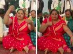 'ગીતા ભાટીના સેન્ડલ પરત કરો', ખેડૂત આંદોલન વચ્ચે મહિલા નેતા સોશિયલ મીડિયામાં ટ્રેન્ડ થયાં|ઈન્ડિયા,National - Divya Bhaskar
