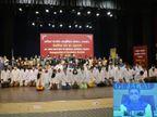 રાજકોટ એઇમ્સ હોસ્પિટલના આજે 50 વિદ્યાર્થીની પ્રથમ બેચના શ્રીગણેશ, ગાંધીનગરથી CM રૂપાણીએ ઇ-શુભારંભ કરાવ્યો|રાજકોટ,Rajkot - Divya Bhaskar