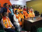 સુરતમાં રામ જન્મભૂમિ મંદિર નિર્માણ નિધિ સમર્પણ સમિતિ કાર્યાલયને ખુલ્લુ મુકાયું, 18 કરોડ હિન્દુ પરિવારોને રામલ્લા સાથે જોડવા નિર્ધાર|સુરત,Surat - Divya Bhaskar