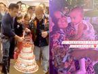 સલમાન ખાને ભાણી-પરિવાર સાથે જન્મદિવસની કેક કાપી, લૅવિશ પાર્ટીમાં નિકટના મિત્રો જોવા મળ્યા|બોલિવૂડ,Bollywood - Divya Bhaskar